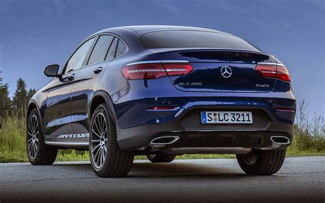 2016 Mercedes-Benz GLC-Class Coupe AMG Line - Wallpapers