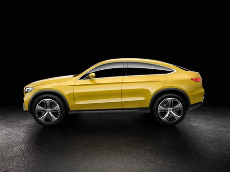Mercedes GLC Coupe Concept Officially Revealed with AMG