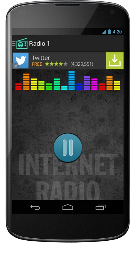 Streaming Internet Radio Android App - Mobile App