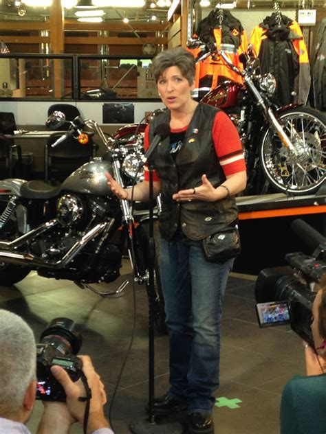 Joni Ernst's 'Inaugural Roast & Ride' attracts hundreds