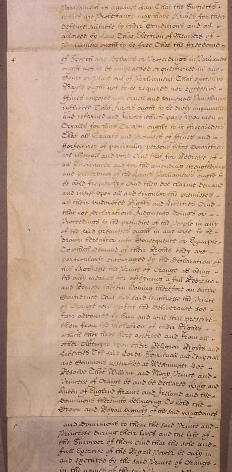 Bill of Rights Page 4 - UK Parliament