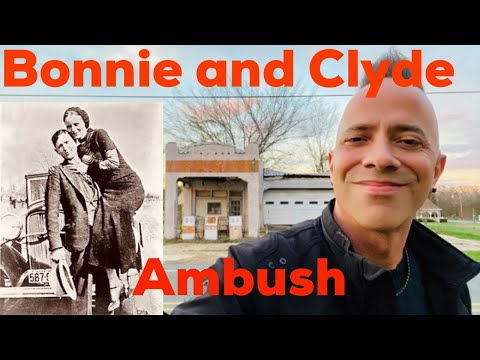 BONNIE AND CLYDE VINTAGE DEATH PHOTO CLYDE BARROW AFTER