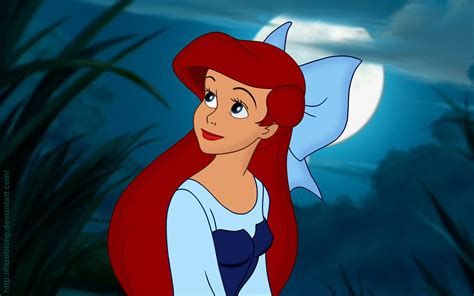 The Little Mermaid Ariel Full HD Background Image for FB