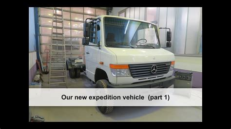 Mercedes Vario 4x4, our new expedition vehicle (part 1