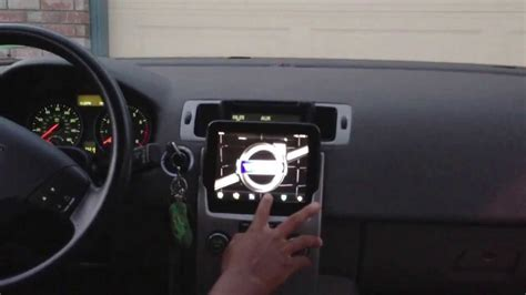 Volvo S40 Tablet Install - YouTube