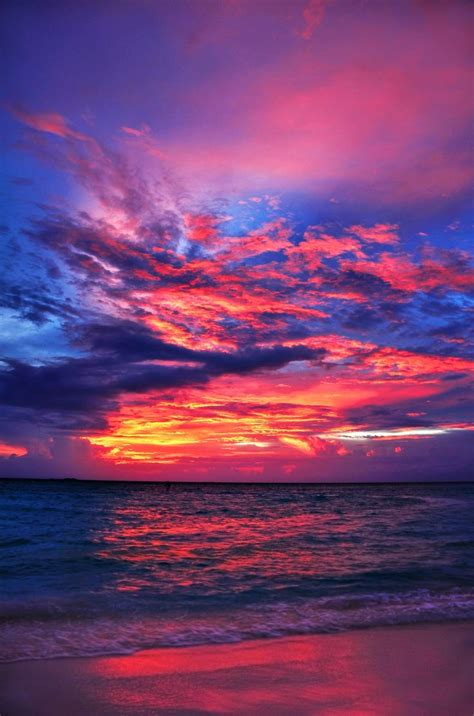 Maldives Sunset- The Sunny Side of Life by Sourav Ghosh