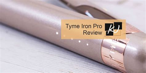 Tyme Iron Pro Review: A high-quality hair styling tool?