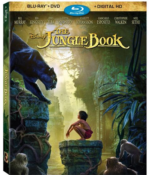 Disney's The Jungle Book Headed to Blu-ray, DVD and