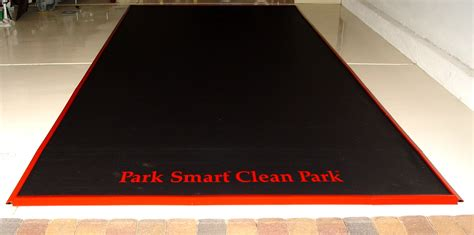 New Containment Mat fills Needed Void in Garage Flooring