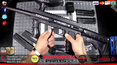 Tippmann 98 Custom MagFed Options and Other Upgrades - YouTube