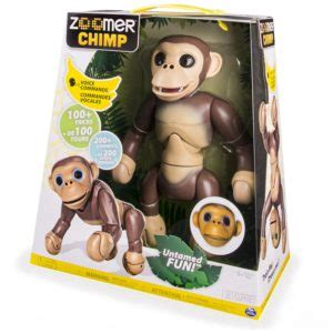 Zoomer Robot Chimp From Spin Master