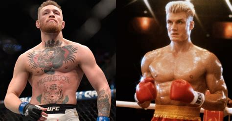 Conor McGregor Channels Ivan Drago With Threat To Khabib