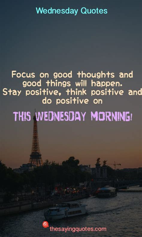 250+ Wednesday Sayings and Quotes to push thought the week