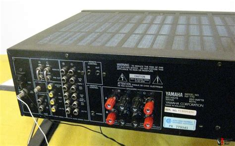 Yamaha RX-770 Natural Sound Stereo Receiver