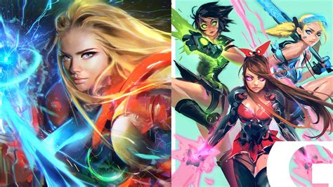 Wildly Cool POWERPUFF GIRLS and METROID Fan Art With