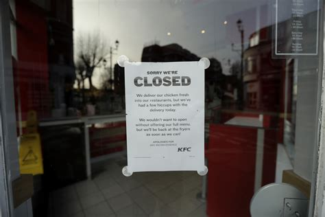 KFC scrambles its name as it issues a 3-letter apology for
