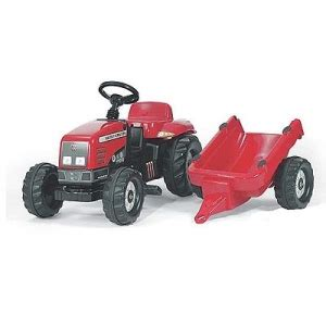 Rolly Toys Massey Ferguson 7726 Pedal Tractor - The