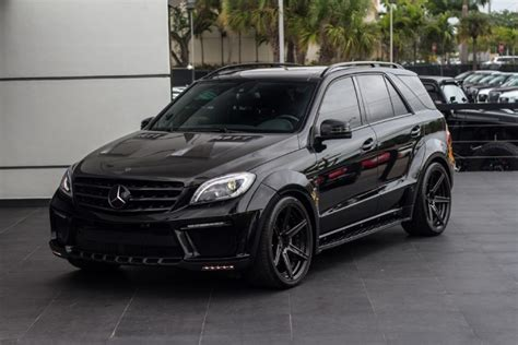 2014 Mercedes-Benz ML63 AMG Inferno Black - Rare Cars for