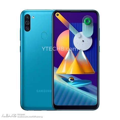 Samsung Galaxy M11 Official Renders and specs « SLASHLEAKS